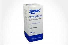 Zantac 150 mg /10 mL Caja Con Frasco 150 mL - Jarabe
