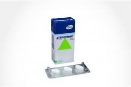 ZITROMAX 500 mg Caja Con 3 Tabletas