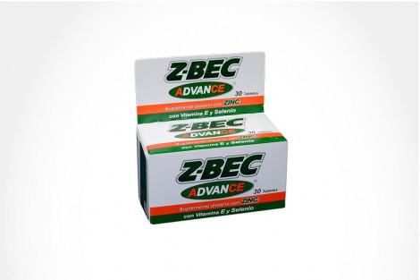 Z-Bec Caja x 30 Tabletas – Suplemento