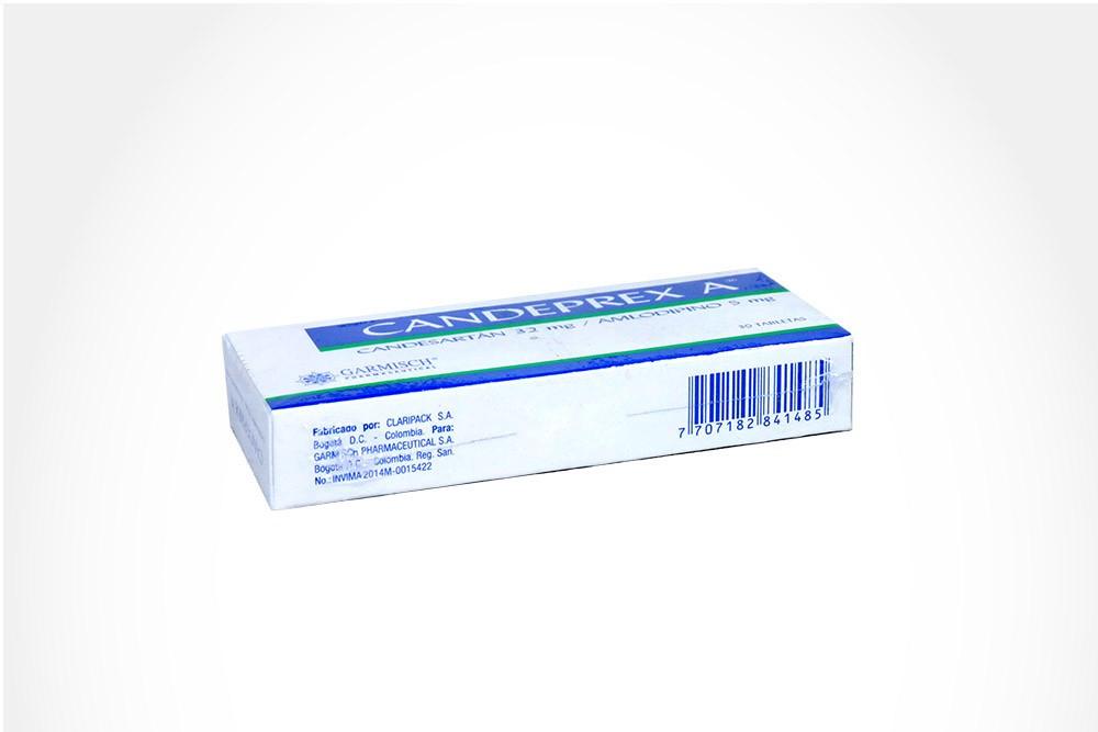 Candeprex A32 / 5 mg Caja Con 30 Tabletas