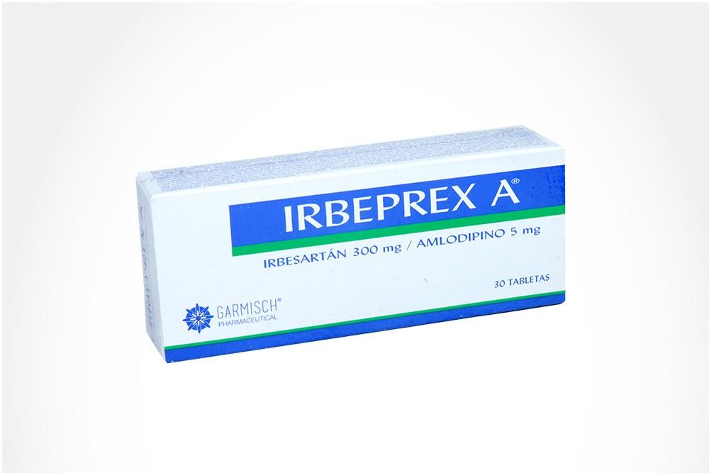 IRBEPREX A 300 / 5 mg Caja Con 30 Tabletas
