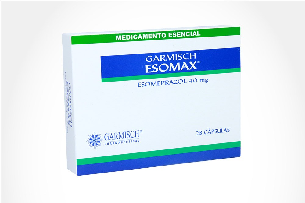 ESOMAX 40 mg Caja Con 28 Cápsulas