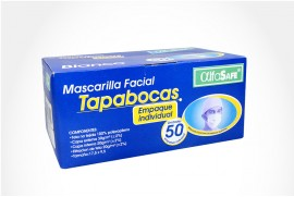 Tapabocas Alfa Safe Caja Con 50 Unidades - Blanco