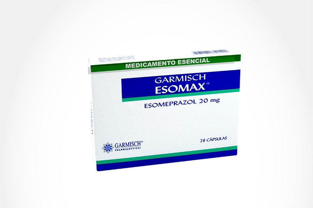 Esomax 20 mg Caja Con 28 Cápsulas