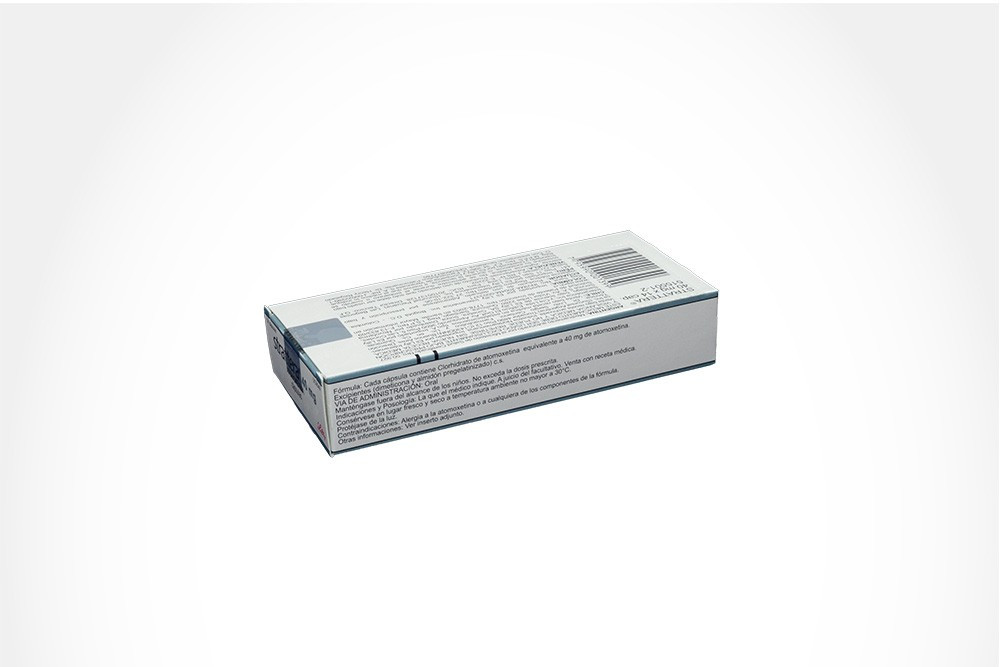 Strattera 40 mg Caja x 14 Cápsulas - Eli Lilly And Company