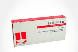 MUTUM CR 10 mg Caja Con 20 Comprimidos Recubiertos de Liberación Prolongada