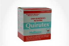 GASA QUIRUTEX 90X90CM 90 X90CM CAJ 1 UN IRIS MEDICALCARE S.A.S.