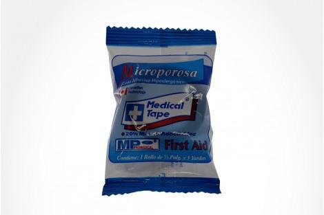 Microporosa Cinta Adhesiva Empaque Con 1 Rollo