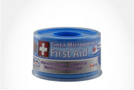 "CINTA AUTOADHESIVA MEDICAL TAPE MICROPOROSA PIEL """"""""""""""""""""""""""""""1"""""""""""""""""""""""""""" MICROPOROSA CAJ 1 UN MP PROMEDICAL LTDA"
