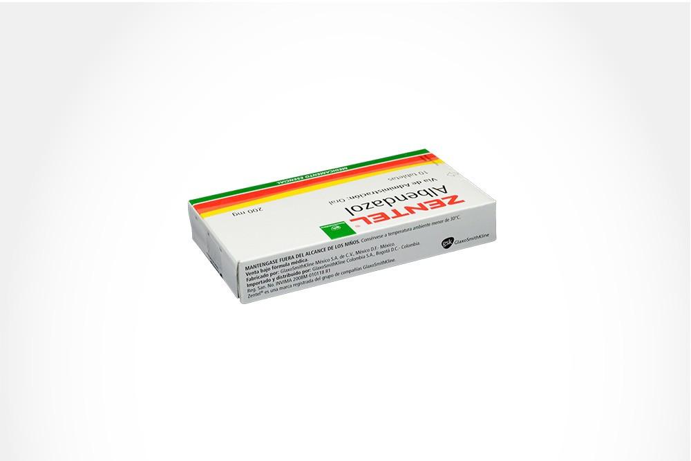 Zetel 200 mg Caja Con 10 Tabletas