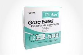 "Gasa Alfa Safe 4""X 4"""" ""4""x 4"""
