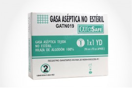 Gasa Aseptic Gauze Non Sterile Caja x 1 Unidad 90 cm x 90 cm