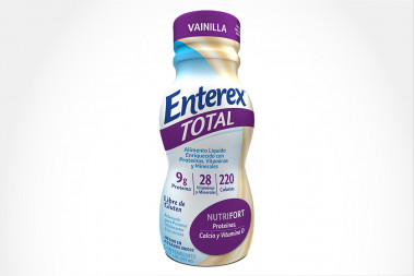 ALIMENTO ENTEREX TOTAL LIQ - ORAL VAINILLA NUTRIFORT FRA 237 ML AMAREY NOVA MEDICAL S.A.
