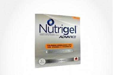 NUTRIGEL ADVANCE POL - ORAL MANDARINA COLAG HIDRO/VIT C-D3 CAJ 30 UN PROCAPS S A