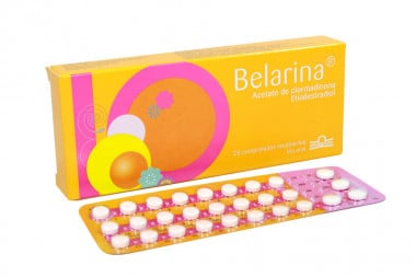 Belarina 2.00 / 0.02 mg Caja Con 28 Comprimidos Recubiertos