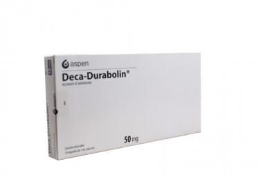 Deca Durabolin 50 mg Solución Inyectable Caja Con 10 Ampollas de 1 mL