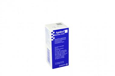 Apidra Solución Inyectable 100 UI / mL Caja Con 1 Cartucho De 3 mL