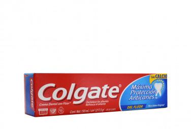 Colgate Crema Dental Con Flúor Caja Con Tubo Con 150 mL