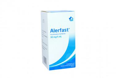 Alerfast Suspensión Oral 30 mg / 5 mL Caja Con Frasco Con 150 mL