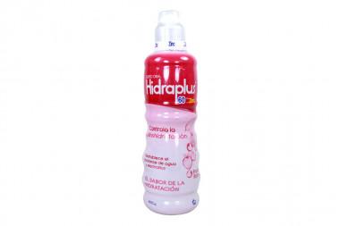 Hidraplus 60 Suero Oral Frasco Con 400 mL - Sabor A Frutos Rojos