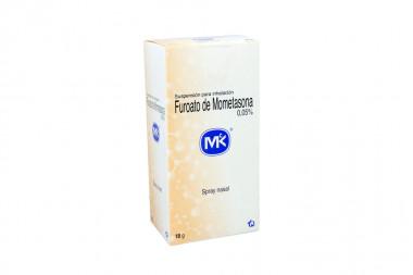 Furoato De Mometasona Spray 0.05% Caja Con Frasco Con 18 g