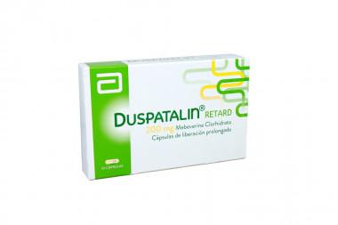 Duspatalin Retard 200 mg Caja Con 10 Cápsulas