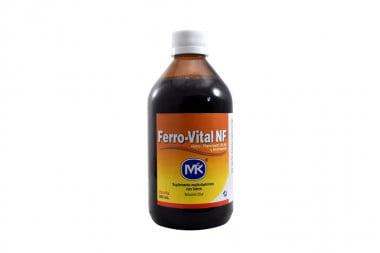 Ferro-Vital NF Solución Oral Frasco Con 340 mL - Vainilla