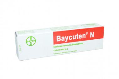 Baycuten N Crema Caja Con Tubo Con 35 g