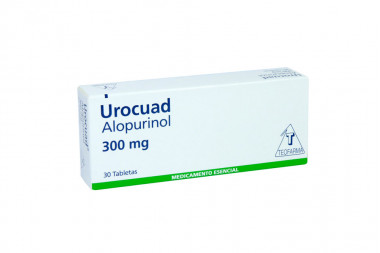 Urocuad 300 mg Caja Con 30 Tabletas