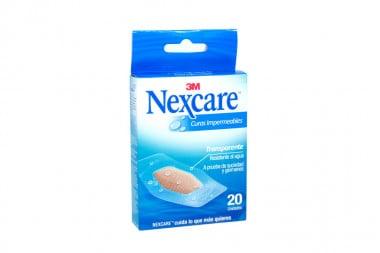 Nexcare Curas Impermeables Caja Con 20 Unidades