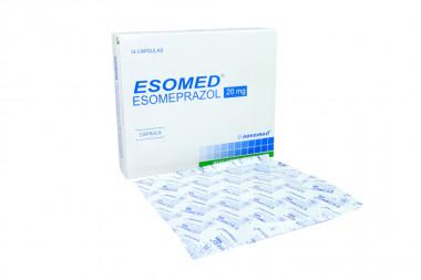 Esomed 20 mg Caja Con 14 Cápsulas