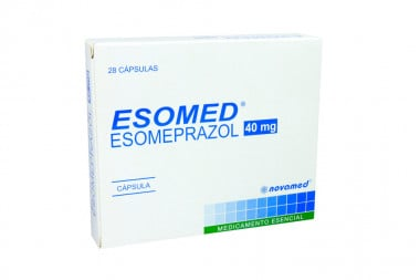 Esomed 40 mg Caja Con 28 Cápsulas