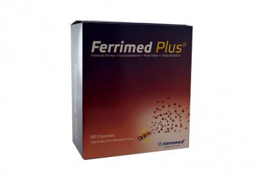 Ferrimed Plus Caja Con 60 Cápsulas