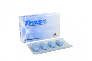 Trass 500 / 85 mg Caja Con 4 Tabletas