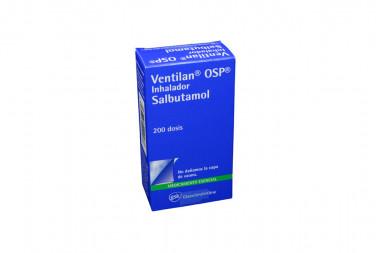 Ventilan Ops Inhalador Caja Con Frasco Con 200 Dosis