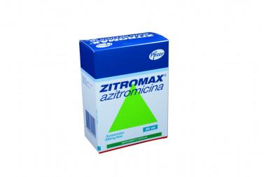 Zitromax Suspensión 200 mg / 5 mL Caja Con Frasco 30 mL