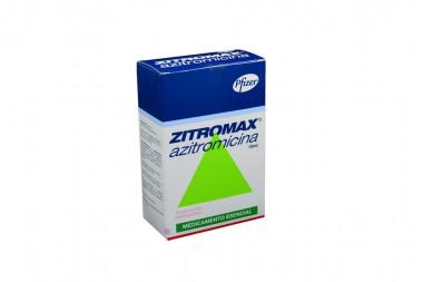 Zitromax Suspensión Oral 200 mg / 5 mL Caja Con Frasco Con 15 mL