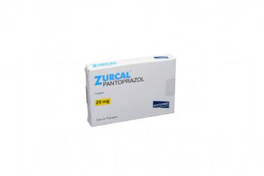 Zurcal 20 mg Caja Con 14 Grageas