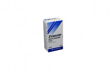 ZYMAXID Solcuión Oftálmica 0.5% Caja Con Frasco Con 5 mL