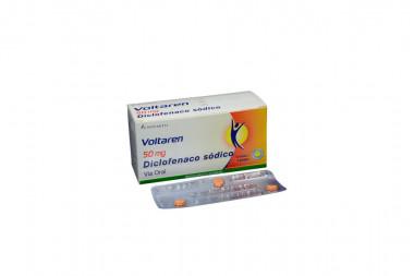 Voltaren 50 mg Caja Con 10 Blister Con 3 Grageas