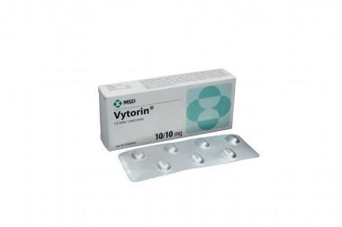 Vytorin 10 mg Caja Con 28 Tabletas