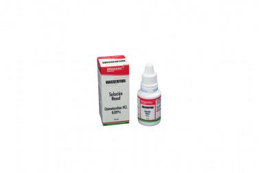 Wasserfrin Caja Con Frasco Gotero x 15 mL Solución Nasal – Wasser Chemical
