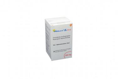 Wellbutrin XL 300 mg Caja Con 30 Tabletas de Liberación Prolongada