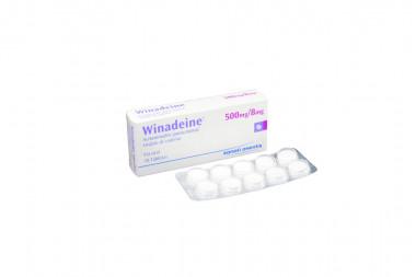 Winadeine F 500 mg / 8 mg Caja x 10 Tabletas – Sanofi Aventis