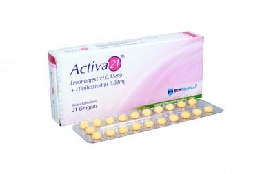 Activa 21 0.15 / 0.03 mg Caja Con 21 Grageas