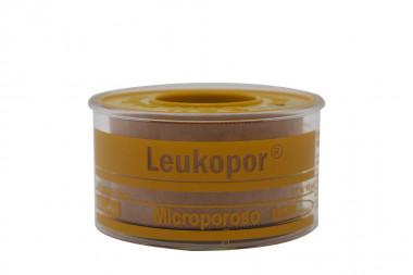Leukopor Esparadrapo Microporoso Empaque Con Rollo De 2,50 cm x 9,14 m