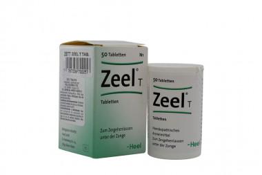 Zeel T Caja Con Frasco Con 50 Tabletas