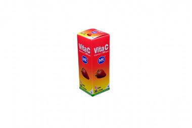 Vita C 100 mg Caja Con Frasco x 30 mL Sabor A Fresa