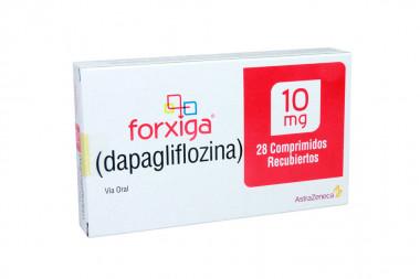 Forxiga 10 mg Caja Con 28 Comprimidos Recubiertos