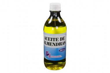 Aceite De Almendras Frasco Con 500 c.c